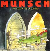 Album cover for Munsch Favourite Stories