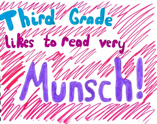 Third Grade Very Munsch
