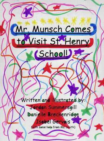 Mr. Munsch Comes To Visit St. Henry School