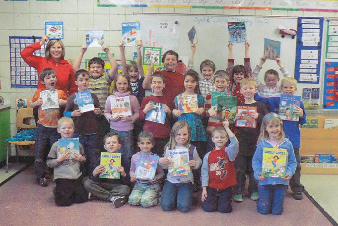 Grade 2 Kids in Steinback, Manitoba