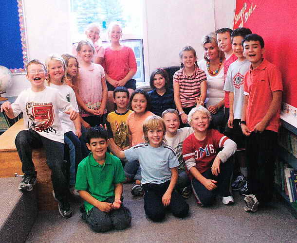 Ms. Hornesman's Class – Houston Christian School – Houston, BC – September, 2009