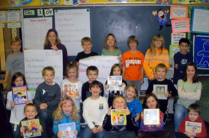 Miss Steven's Class – Palmyra PA – December, 2009