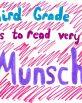 Third Grade Very Munsch
