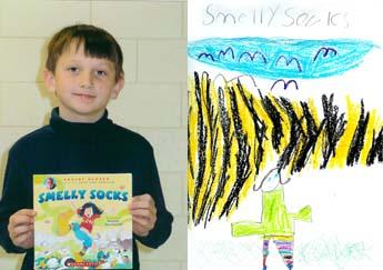 Artwork from Goshen Elementary, in Augusta, GA