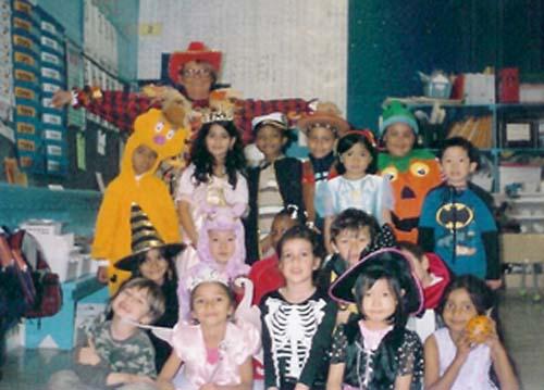 The kids of Iona E.S.