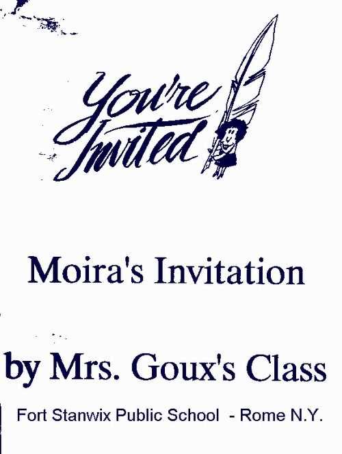 A Wonderful Invitation