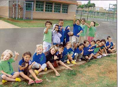 Kindergarten, Kahului, Hawaii