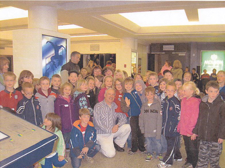Kids in Lumsden, Saskatchewan