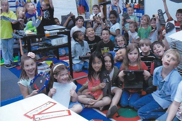Kindergarten Kids, Wichita, Kansas